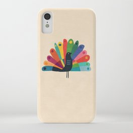 Whimsical Peacok iPhone Case