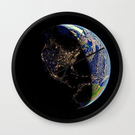 USA, light of the world Wall Clock