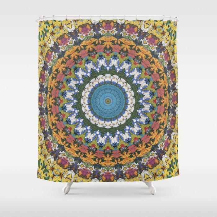 Elemental Spirits Shower Curtain