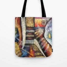 'From Africa to Here' by Artist Unknown Tote Bag