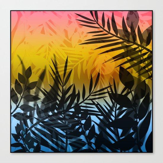Hot summer . Heat . Canvas Print