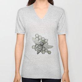 Honeybee Unisex V-Neck