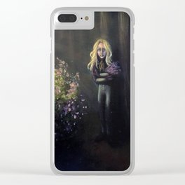 The Cottage at the Edge of Valleywood Clear iPhone Case