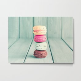 Pastel Pillar Rising Metal Print