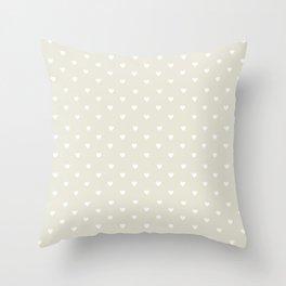Pastel heart Throw Pillow