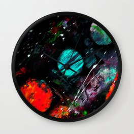 Collision Course Wall Clock