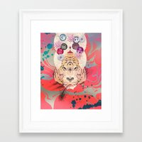 psychedelic Framed Art Prints featuring Psychedelic by Pepe Psyche