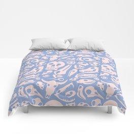Soft Skulls Comforters