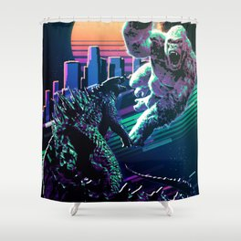 Monster fighters Shower Curtain