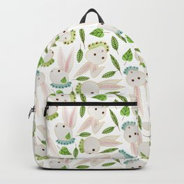 Rabbits in Ruffles Backpack