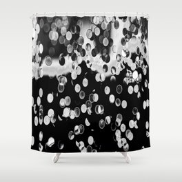 Abstract Photoart Points Shower Curtain