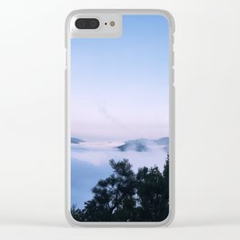 In the Trees Above the Clouds Clear iPhone Case