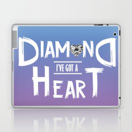 Diamond Heart Laptop & iPad Skin