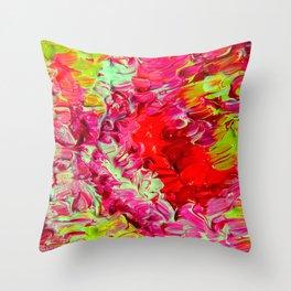 Neon Cantina Throw Pillow