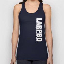 LARPBO Classic White Unisex Tank Top