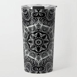 Drawing Floral Doodle G10 Travel Mug