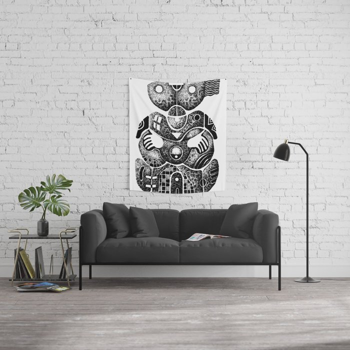 Embrace Wall Tapestry