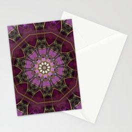 Amethyst Pink Mandala Stationery Cards