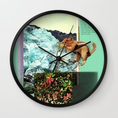Alpine Tundra Wall Clock