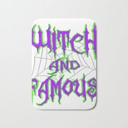 Hangover with the Halloween? Can't get enough of witches? Here's the perfect tee for you!  Bath Mat