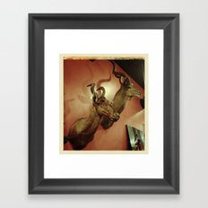 Trophy Wife Framed Art Print