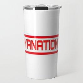 PlayaNationMG RW 2-Tone Travel Mug