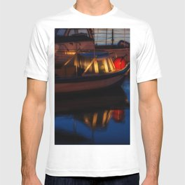 Sunset on the turkish aegean sea T-shirt