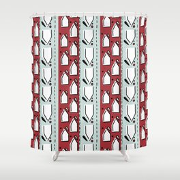 7225 Collection #4 Shower Curtain
