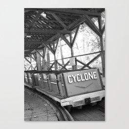 Cyclone Rollercoaster Canvas Print