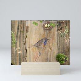 Bird Spring Collection Mini Art Print