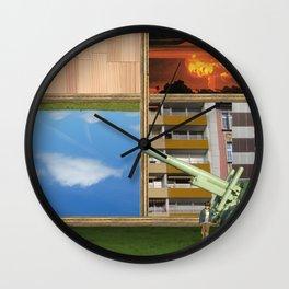 An der Schwelle zur Freiheit · a day with Magritte 3 Wall Clock