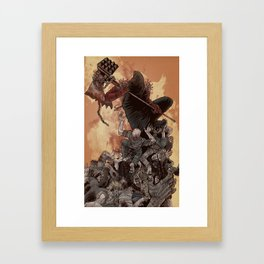 The Executioner Framed Art Print