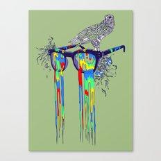 Technicolor Vision Canvas Print
