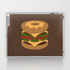 Donut Burger Laptop & iPad Skin