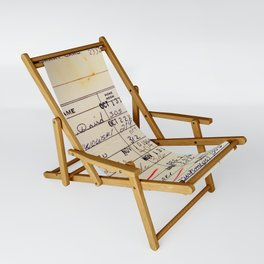 Library Card 23322 Sling Chair