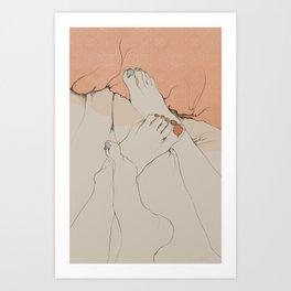 """""""Entre Sábanas"""" Art Print"""