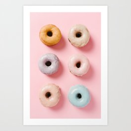 Donut Life 1 Art Print