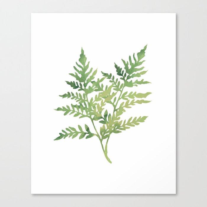 Plant 3 Canvas Print