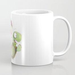 Falling Tortoise Coffee Mug
