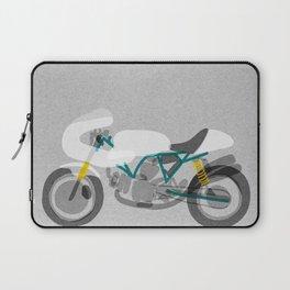 Vintage Motorcycle Laptop Sleeve