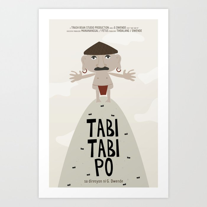 Tabi Tabi Po (Philippine Mythological Creatures Series) Art Print