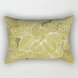 grandma's garden Rectangular Pillow
