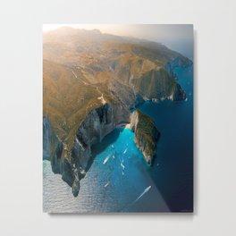 Zankynthos island, Greece Metal Print