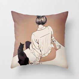 Fiction… Throw Pillow