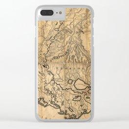 Lousiana 1806 Clear iPhone Case
