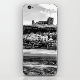 Coast - Whitby Abbey and Church iPhone Skin