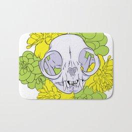 Persian Kitty Skull Bath Mat