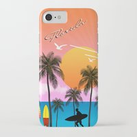 florida iPhone & iPod Cases featuring Florida  by mark ashkenazi
