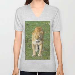 Extraordinary Animals - Lioness Unisex V-Neck