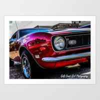 1969 Chevy SS Camaro Art Print